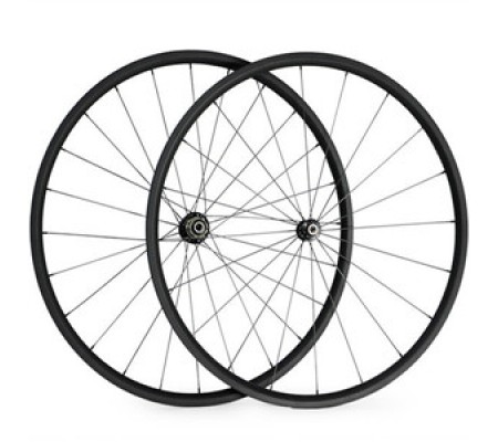700c 24mm supperlight ceramic bearing hub carbon bike wheel,tubular or clincher optional