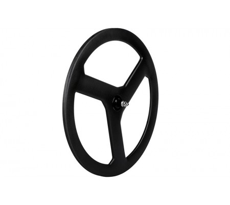 700c three carbon spoke wheel