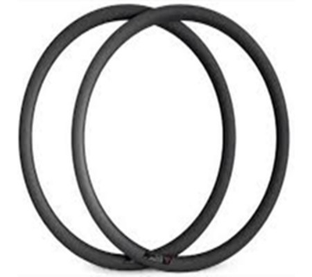 700c 38mm tubeless ready carbon bike rim,23mm and 25mm wide U shape