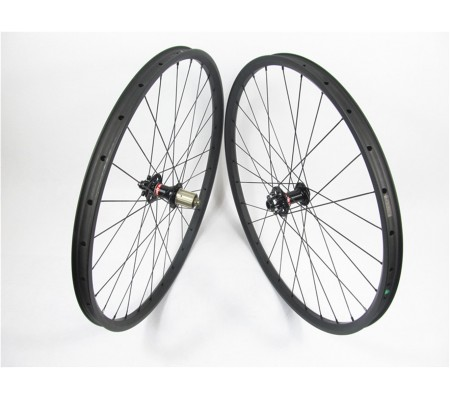 35mm tubeless Novatec carbon MTB bike wheel 27.5er or 29er optional