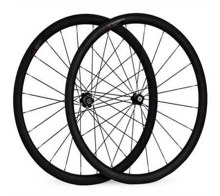 700c 38mm powerway carbon bike wheel,tubular,clincher or tubeless optional