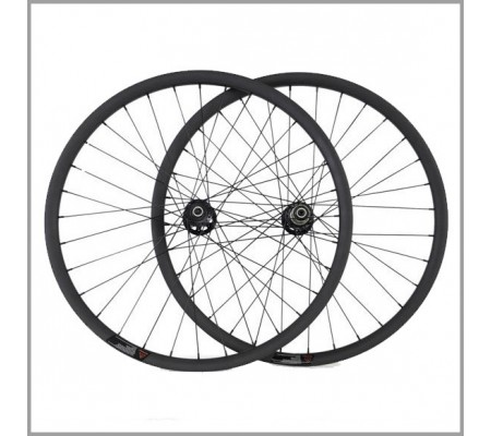 40mm tubeless Novatec carbon MTB bike wheel 27.5er or 29er optional