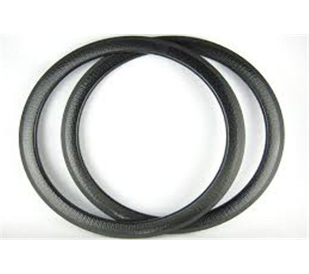 700c 45mm clincher dimpled carbon bike rim,25mm U shape