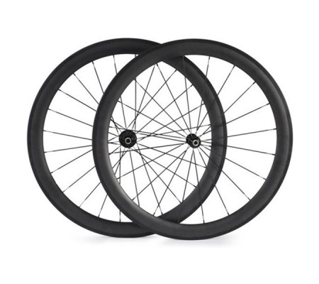 700c 50mm powerway carbon bike wheel,tubular,clincher or tubeless optional