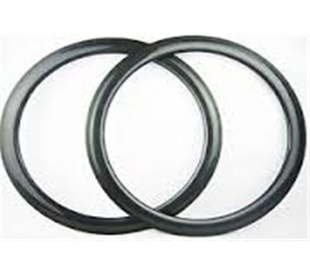 700c 50mm clincher dimpled carbon bike rim,25mm U shape