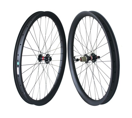 50mm tubeless Novatec carbon MTB bike wheel 27.5er or 29er optional