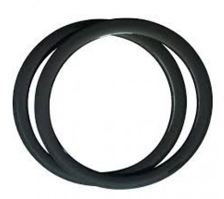 700c 55mm clincher carbon bike rim,25mm wide U shape