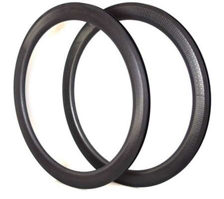700c 58mm clincher dimpled carbon bike rim,25mm U shape