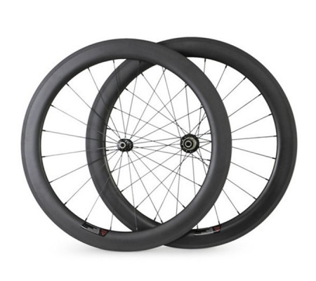 700c 60mm ceramic bearing straight pull carbon hub carbon bike wheel,tubular,clincher or tubeless optional