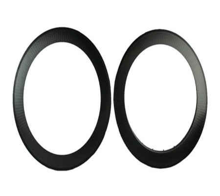 700c 80mm clincher dimpled carbon bike rim,25mm U shape