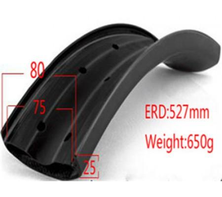 26er 80mm fatbike carbon rim