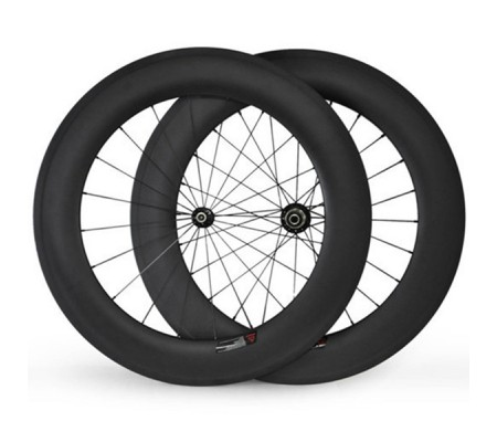 700c 88mm Straightpull Disc hub carbon bike wheel,tubular,clincher or tubeless optional