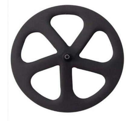 700c five carbon spoke wheel