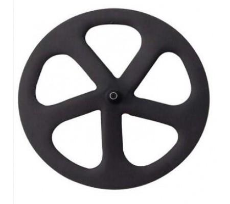 700c five carbon spoke wheel