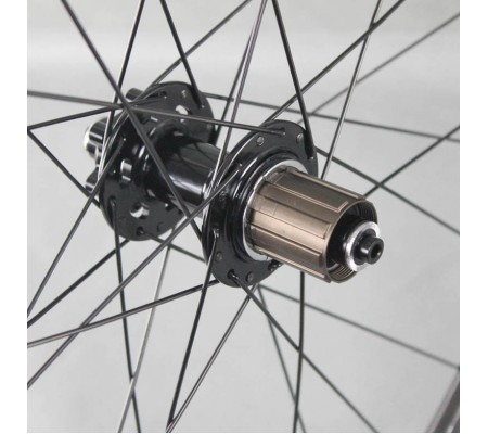 700c 50mm straightpull disc hub carbon bike wheel,tubular,clincher or tubeless optional