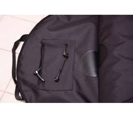 28er double wheel bag