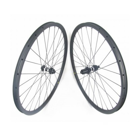 30mm tubeless DT350 straightpull hub carbon MTB bike wheel 27.5er or 29er optional