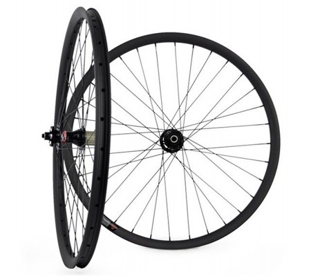 30mm tubeless enduro bearing centerlock hub carbon MTB bike wheel 27.5er or 29er optional