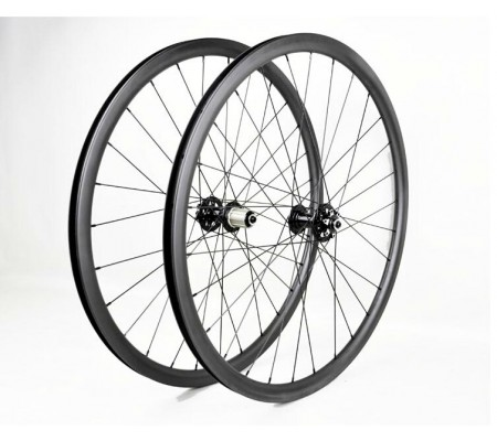 27mm tubeless centerlock enduro bearing hub carbon MTB bike wheel 27.5er or 29er optional