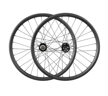 40mm tubeless enduro bearing powerway hub carbon MTB bike wheel 27.5er or 29er optional