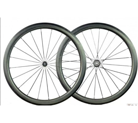 700c 45mm dimpled  supperlight ceramic bearing hub carbon bike wheel,tubular or clincher optional