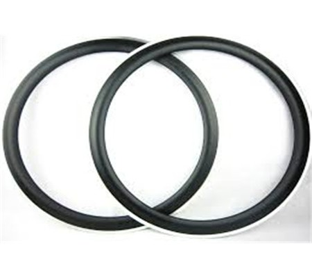 700c 50mm clincher carbon bike rim with alloy brake surface,20.5mm v shape,23mm and 25mm wide U shape
