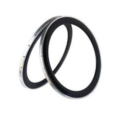 700c 60mm clincher carbon bike rim with alloy brake surface,20.5mm v shape,23mm and 25mm wide U shape