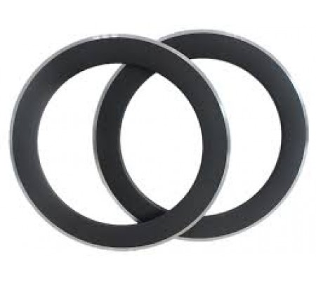 700c 80mm clincher carbon bike rim with alloy brake surface,23mm and 25mm wide U shape